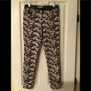 Willow & Clay Black/White Floral Pant